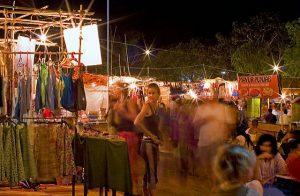 BAGA NIGHT MARKET, BAGA BEACH