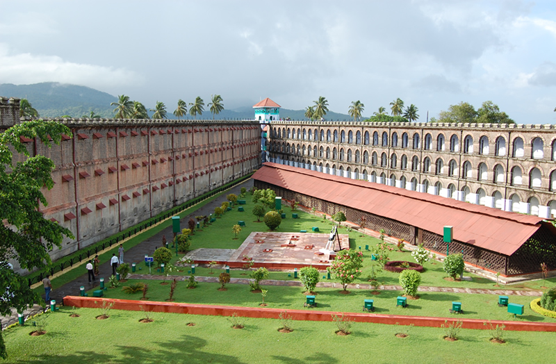 cellular jail pic credit: Andaman Tourism