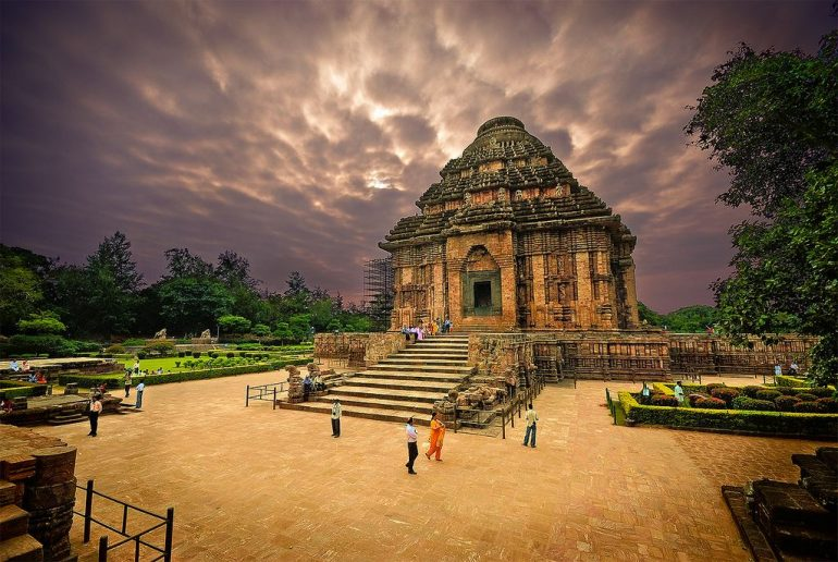 the konark sun temple