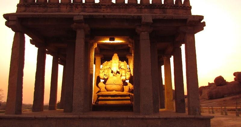 Sassive Kalu & Kadale Kalu Ganesha, Hampi, Karnataka